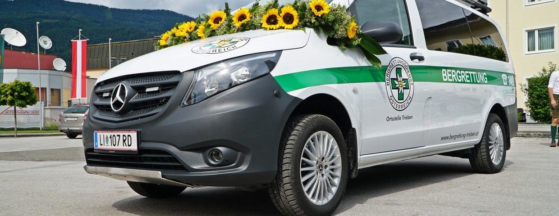 Fahrzeugsegnung Mercedes Vito 4x4