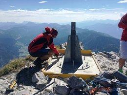 Gipfelkreuz Admonter Reichenstein