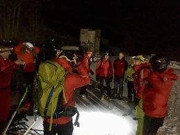 Pieps-Lawinenübung und Akja-Training, 26.01.2018