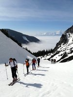 Steilrinnen-Bergeübung 25.03.2017